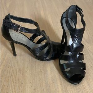 Black Guess High Heels